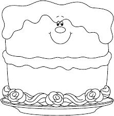 Small Picture Black Birthday Cake Clipart 57