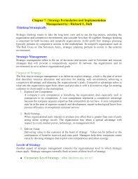 Strategy Formulation And Implementation Mnu008 Studocu