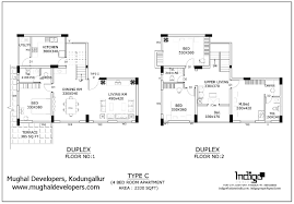 4 Bedroom Apartmenthouse Plans Four  Luxihome4 Bedroom Duplex Floor Plans