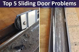 top 5 common sliding door problems