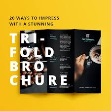 tri fold maker design trifold brochures that get your business noticed free