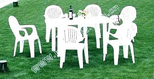 plastic outdoor furniture dining set outside table white garden amazing tableware coloured chairs nz plastic outdoor furniture