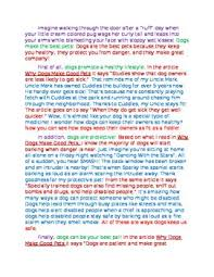 best dog essay ideas english help example of this model opinion essay is a great way to show your students what a finished product should include the essay claims that dogs are the best pets because
