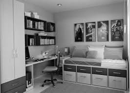 Black And White Teenage Bedroom Appealing Boys Teenage Bedroom Ideas With Wooden Concept Cool