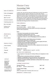 Resume Sample For Accounting Dew Drops