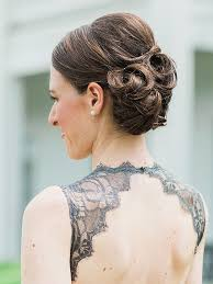 Pin Curl Hair Style 24 romantic updo ideas for bridesmaids 7265 by stevesalt.us