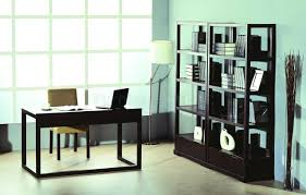 bookcases for home office. Awesome Home Office Bookshelves On Wenge Finish Contemporary W Desk Bookcases Bhod Parson For I