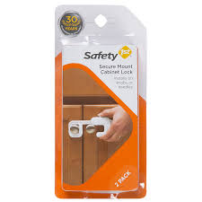 Safety 1st Cabinet Lock Amazoncom Safety 1st Secure Mount Cabinet Lock 2 Count Baby