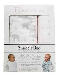 Swaddle Designs Pink Elephants And Chickies Duo Swaddling Set By Swaddle Designs Pink Elephants And Chickies Duo Swaddling Set By Swaddle Designs