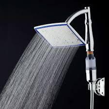 Universele Producten Voor Tweeërlei Gebruik Rvs Badkamer Regenval Douche Hoofd Sproeier Met Beugel Filter