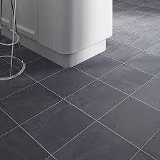 colours leggiero blue slate tile effect laminate flooring 1 72m² pack rooms diy at