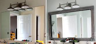 rustic wood framed mirrors. Before/after Of A Custom Wood Frame Mirror! Rustic Framed Mirrors
