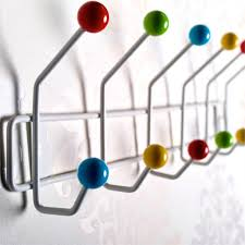 Coloured Ball Coat Rack Coat Rack Coat Hanger Colour Ball Coat Hooks Towel Rack Wall Mounted 4