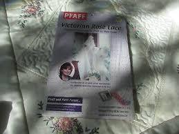 Original PFAFF VICTORIAN ROSE LACE By Patti Porter LACE DESIGNS Disk SEALED  NOS | eBay