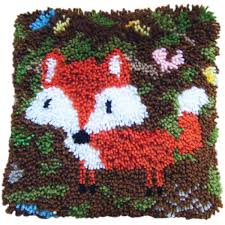 Latch Hook Designs Free Fox Latch Hook Kit