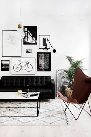 Black And White Living Room A Glimt From Our Livingroom Homeware Pinterest Salon Style