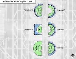 dallas fort worth dfw airport terminal map Map Fort Worth Texas dallas fort worth dfw terminal map map fort worth texas area