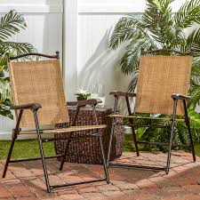 sling stacking patio chair target by greendale home fashions sling back outdoor chairs