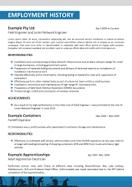 Field Radio Operator Sample Resume Ideas Of Examples Of Resumes Best Resume Samples For Freshers Job 13