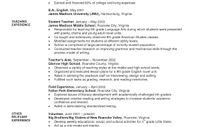 Brilliant Ideas Of Teaching Cv Template Job Description Teachers