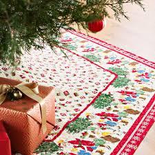 Quilted Christmas Tree Skirt Pattern Custom Design Ideas