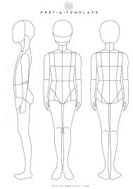 Costume Drawing Template 24 Images Of Mannequin Costume Design Template Matyko Com