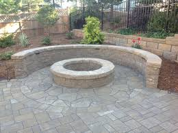patio designs brick paver patio with fire pit fire pit bricks round pavers how