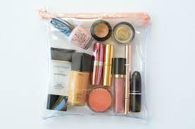 diy clear travel tsa makeup accessory bag crafts simple makeup makeup and travel