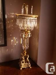 victorian style chandelier table lamp 450