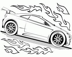 Small Picture Hot Wheels Track Race Two Car Hot Wheels Coloring Page Speed
