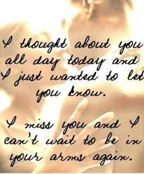 Missing You Quotes For Him Telling Himher How Much Heshe Means