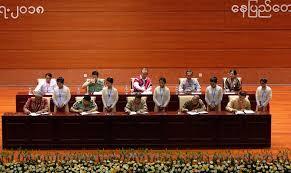 dvb multimedia group democvoiceburma twitter panglong iii wraps up delegates tacking 14 points onto union accord