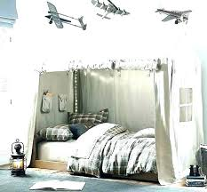 Ikea Kura Childrens Blue Bed Tent Canopy Uk With Curtain Medium Size ...