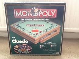 monopoly and compendium wooden game set wood board for wooden monopoly