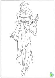 Totally Spies Coloring Pages At Getdrawingscom Free For Personal