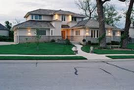 Contemporary two-story exterior home idea in Kansas City