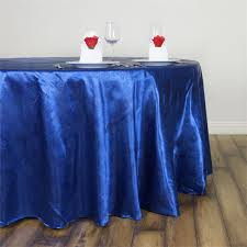 adoringly adorned satin lily round tablecloth 120