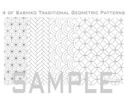 Sashiko Patterns Stunning Sashiko Pattern Archives Upcycle Stitches