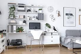 home office work room furniture scandinavian. A Tour Inside Blogger\u0027s Home Office Design Work Room Furniture Scandinavian