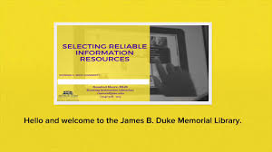 October 2017 \u2013 James B. Duke Memorial Library