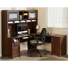 t shaped office desk. bush furniture achieve l shape home office desk with hutch in sweet cherry t shaped r