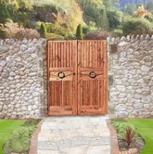 Small Picture Custom Gate Wood Garden Gate made from solid 3 thick full length