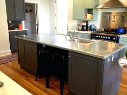 zinc kitchen countertops zinc modern kitchen by zinc countertops