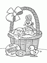 Happy Easter Coloring Page For Kids Coloring Pages Printables Free