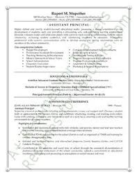 School Administrator / Principal's Resume Sample | Administrator ...
