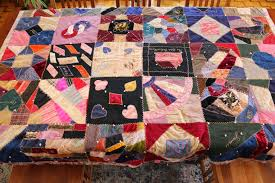Ohio Thoughts~: Look What I Found: Antique Handmade Quilt & The quilt has numerous different stitches which are all amazing. The front  is held to the back by