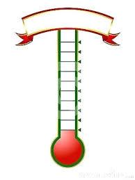 Fundraising Progress Chart Fundraising Meter Template Timetoreflect Co