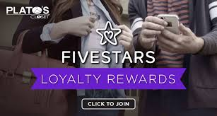 to join our five stars loyalty program