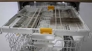 Dishwasher Drawers Vs Standard Miele Dishwashers 3d Cutlery Tray In Action Youtube