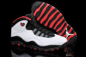 jordan shoes retro 10. air jordan 10 retro chicago 45 pe white varsity red black shoes b